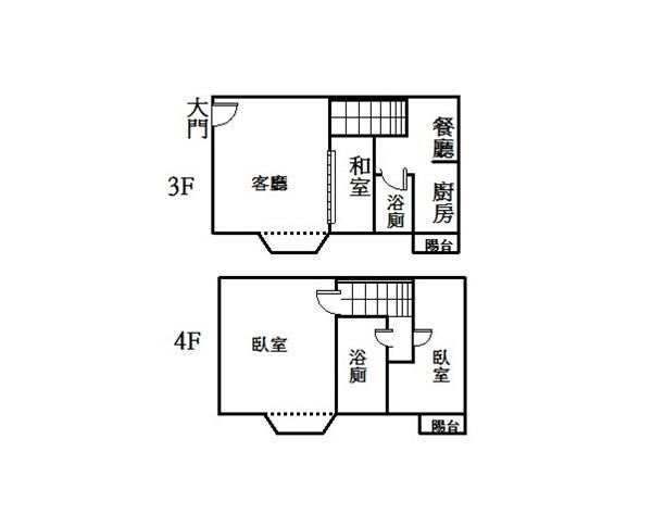 迎旭3-4樓重疊華廈- 0802632