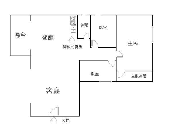 全新青荷戀三房附平車華廈- 1153304
