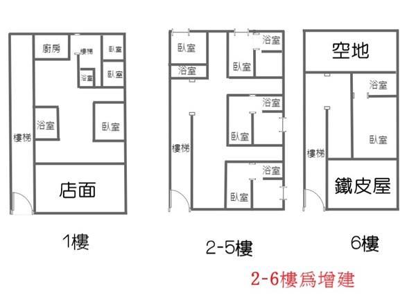 新莊街臨路店面+17套房- 1243952