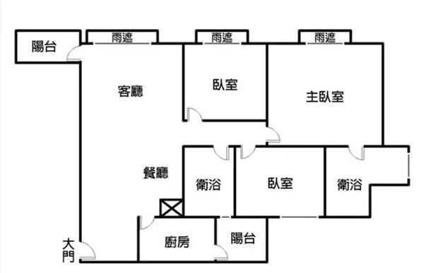 晴空匯三房平車景觀戶- 1132427