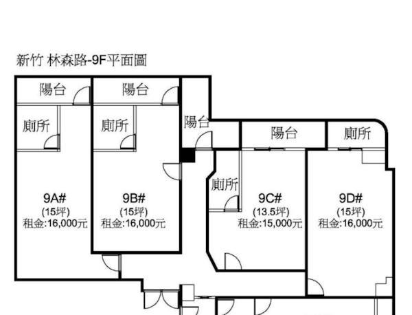 林森大遠百電梯高投報三套房- 1221006