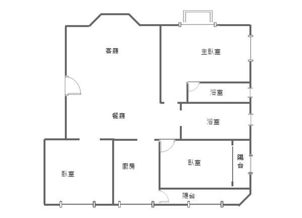 竹北國中溫馨三面採光明亮設計師的家3房車位- 1099405