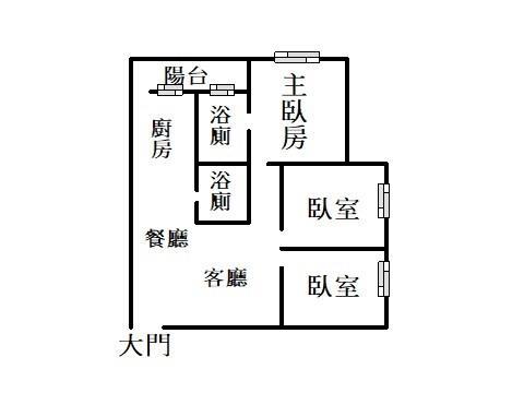 青翠家園~湳雅街舊社國小電梯美3房- 1172639