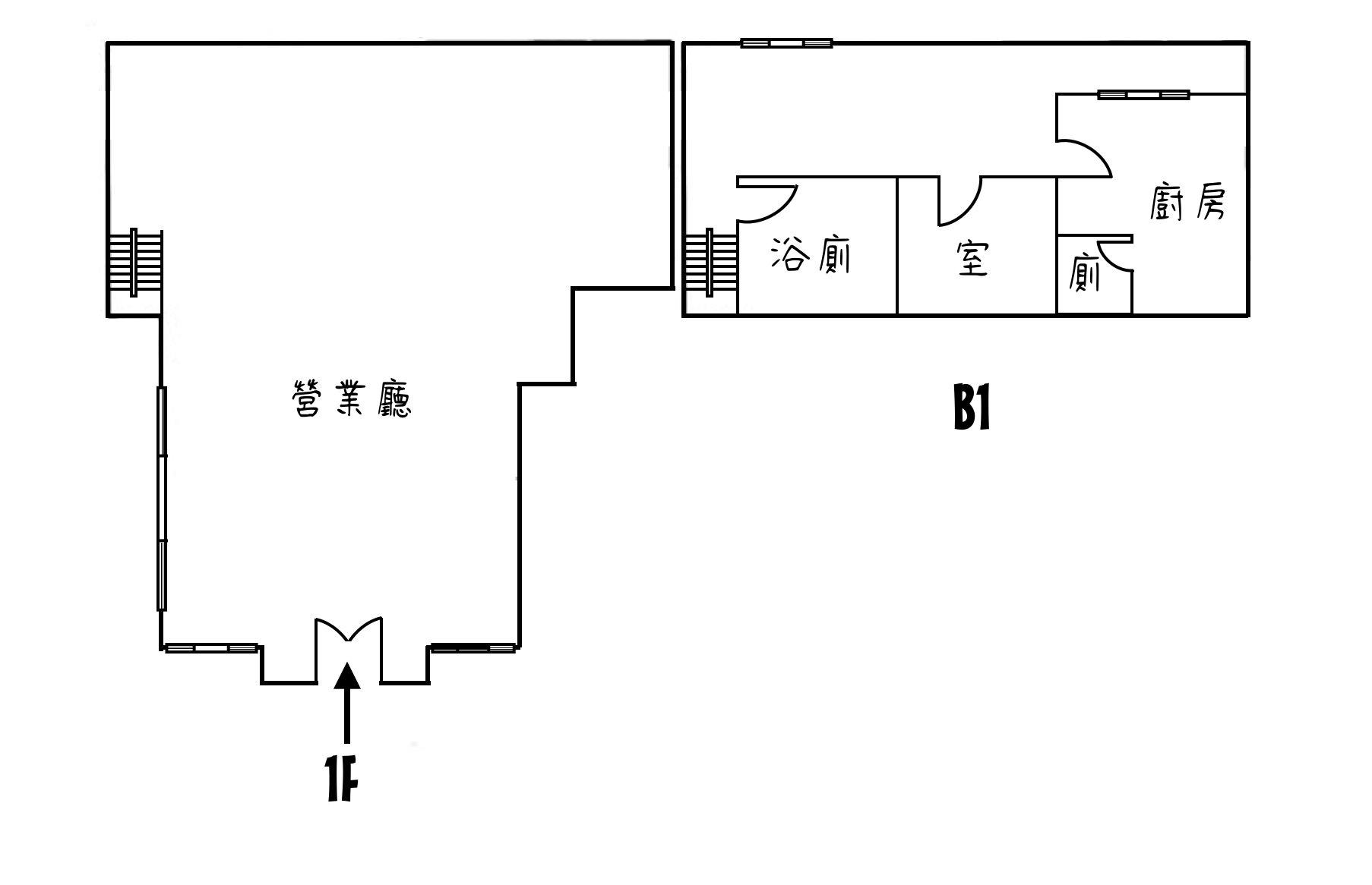 大學路店面~臨清交大- 1042203