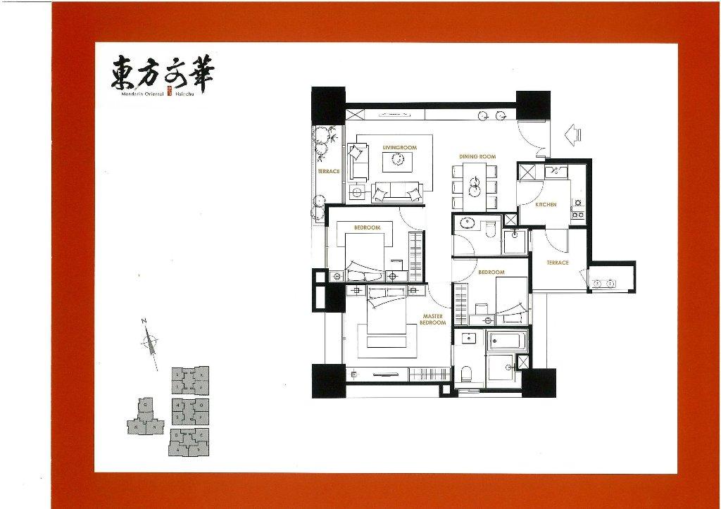 【關埔重劃區】德鑫東方文華社區簡介-平面圖、位置圖、建材設備、公設